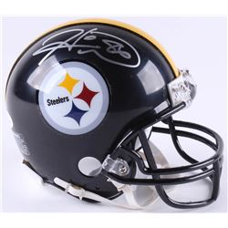 Hines Ward Signed Steelers Mini-Helmet (JSA COA)