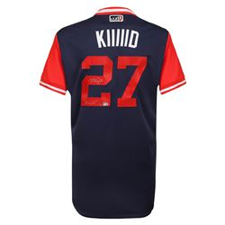 "Mike Trout Signed LE Angels Players Weekend ""Kiiiiid"" Jersey Inscribed ""Kiiiiid"" (Steiner COA  MLB H"