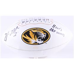"William Moore Signed Missouri Tigers Logo Football Inscribed ""11 Int's""  ""264 Tackles"" (Radtke COA)"