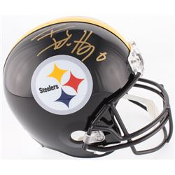 T.J. Watt Signed Steelers Full-Size Helmet (JSA COA  Watt Hologram)