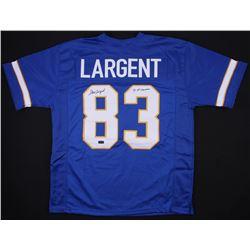 "Steve Largent Signed Jersey Inscribed ""'75 All-American"" (Radtke COA)"