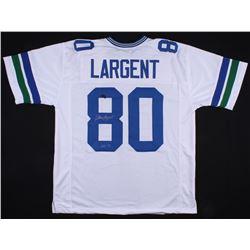 """Steve Largent Signed Jersey Inscribed """"HOF '95"""" (Radtke COA)"""