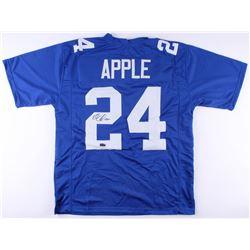 Eli Apple Signed Jersey (Radtke COA)