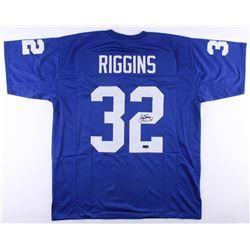 John Riggins Signed Jersey (Radtke COA)