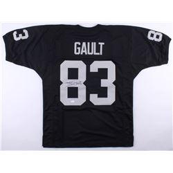 Willie Gault Signed Jersey (JSA COA)