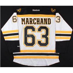 Brad Marchand Signed Bruins Jersey (Marchand Hologram  COA)