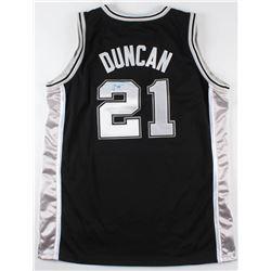 Tim Duncan Signed Spurs Jersey (JSA LOA)