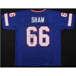 """Billy Shaw Signed Bills Jersey Inscribed """"HOF '99"""" (JSA COA)"""
