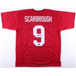 Bo Scarbrough Signed Jersey (Radtke COA)