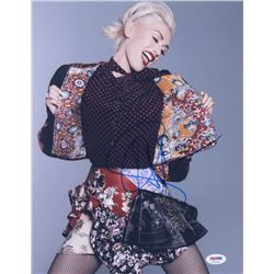 Gwen Stefani Signed 11x14 Photo (PSA COA)