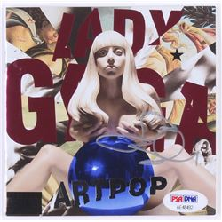 "Lady Gaga Signed ""Artpop"" CD Album Booklet (PSA COA)"