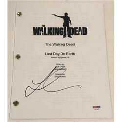 "Lauren Cohan Signed ""The Walking Dead"" Episode Full Script (PSA COA)"