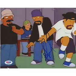 "B-Real Signed ""The Simpsons"" 8x10 Photo (PSA COA)"