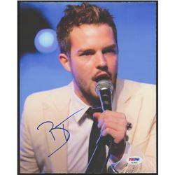 "Brandon Flowers Signed ""The Killers"" 8x10 Photo (PSA COA)"
