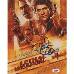 "Richard Donner Signed ""Lethal Weapon"" 8x10 Photo (PSA COA)"
