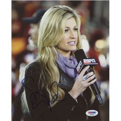 "Erin Andrews Signed ""ESPN"" 8x10 Photo (PSA COA)"