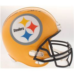 "Dick LeBeau Signed Steelers Full-Size Helmet Inscribed ""HOF 2010"" (Radtke COA)"