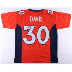 """Terrell Davis Signed Jersey Inscribed """"HOF 17"""" (JSA COA)"""