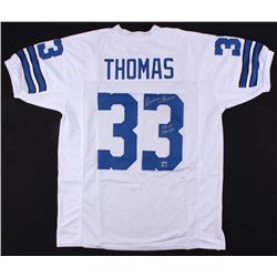 "Duane Thomas Signed Jersey Inscribed ""SB VI Champs"" (Jersey Source COA)"