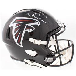 Matt Ryan Signed Falcons Full-Size Speed Helmet (JSA COA)