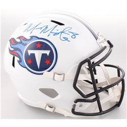 Marcus Mariota Signed Titans Full-Size Speed Helmet (Beckett COA  Mariota Hologram)