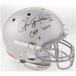 "Chris Spielman Signed Ohio State Buckeyes Full-Size Helmet Inscribed ""CHOF 09"" (Radtke COA)"
