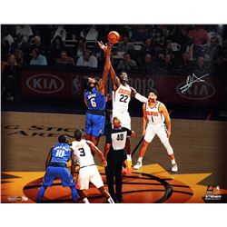 "Deandre Ayton Signed Suns ""Tip Off"" 16x20 LE Photo (Game Day Legends COA  Steiner COA)"