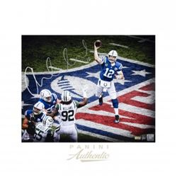 """Andrew Luck Signed Colts """"NFL"""" 16x20 Limited Edition Photo (Panini COA)"""