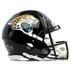 Leonard Fournette Signed Jaguars Full-Size Authentic On-Field Speed Helmet (Panini COA)