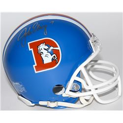 John Elway Signed Broncos Throwback Mini Helmet (Radtke COA)