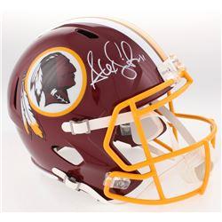 Alex Smith Signed Redskins Full-Size Speed Helmet (Radtke COA)