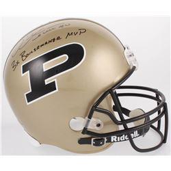 "Mike Alstott Signed Purdue Boilermakers Full-Size Helmet Inscribed ""3x Boilermaker MVP"" (JSA COA)"