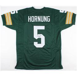 """Paul Hornung Signed Jersey Inscribed """"HOF 86"""" (JSA Hologram)"""