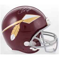 "Sonny Jurgensen Signed Redskins Full-Size Authentic On-Field Throwback Helmet Inscribed ""HOF 83"" (JS"