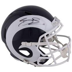 Brandin Cooks Signed Rams Full-Size Speed Helmet (Fanatics Hologram)