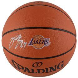 Brandon Ingram Signed Lakers Logo Basketball (Fanatics Hologram)
