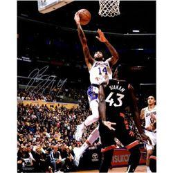 "Brandon Ingram Signed Lakers ""Driving Layup"" 16x20 Photo (Fanatics Hologram)"