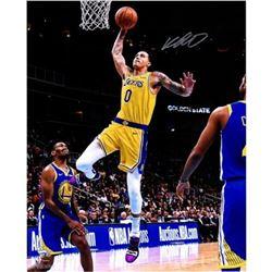 "Kyle Kuzma Signed Lakers ""Driving Layup"" 16x20 Photo (Fanatics Hologram)"