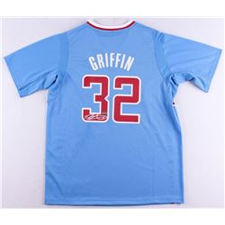 Blake Griffin Signed Clippers Adidas Swingman Short Sleeved Jersey (Panini COA)