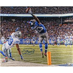 """Odell Beckham Jr. Signed Giants """"The Catch"""" 20x24 LE Photo (Steiner COA)"""