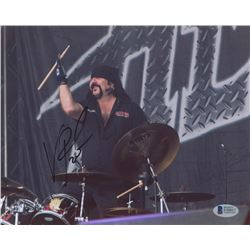 Vinnie Paul Signed Pantera 8x10 Photo (Beckett Hologram)