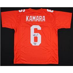 "Alvin Kamara Signed Jersey Inscribed ""Rocky Top""  (Radtke COA)"