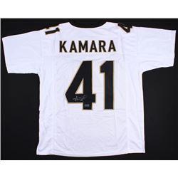 Alvin Kamara Signed Jersey (Radtke COA)