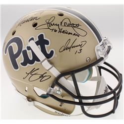 Pittsburgh Panthers Greats Full-Size Helmet Signed By (5) With Curtis Martin, Tony Dorsett, Chris Do