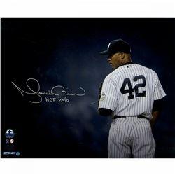 "Mariano Rivera Signed New York Yankees ""Stare Down"" 16x20 Photo Inscribed ""HOF 2019"" (Steiner COA)"