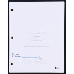 """Neal Scanlan Signed """"Star Wars: The Force Awakens"""" Full Movie Script (Beckett Hologram)"""