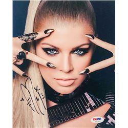 Fergie Signed 8x10 Photo (PSA COA)