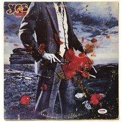 """Jon Anderson Signed Yes """"Tormato"""" Vinyl Record Album (PSA COA)"""
