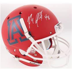 Rob Gronkowski Signed Arizona Wildcats Custom Matte Red Full-Size Helmet (Radtke COA)
