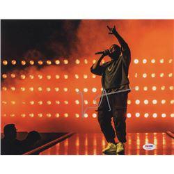 Kanye West Signed 11x14 Photo (PSA COA)